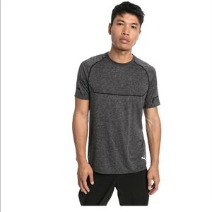 Puma EVOKNIT Dry Cell Black Heather Athletic Top M